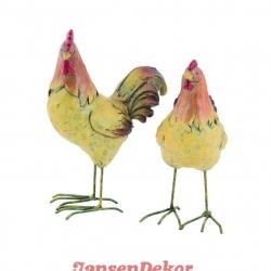 høne hane
