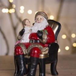Julemand med barn