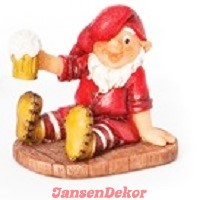 Skovmand med ølkrus